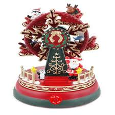 home accents holiday 6 6 8 in musical ferris wheel with led