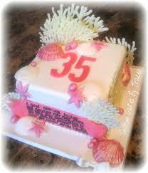 35 wedding anniversary 35th coral wedding anniversary cake one of my friends flickr