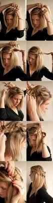 hair tutorials for medium hair 15 cute and easy hairstyle tutorials for medium length hair gurl