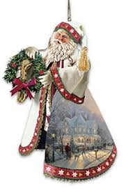 kinkade santa claus heirloom ornaments with