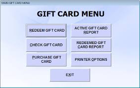 gift card software restaurant gift cards