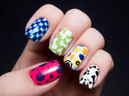 dog themed nail art