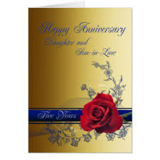Anniversary Wishes To Daughter And Anniversary For Son And Daughter In Law Cards U0026 Invitations