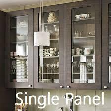 glass door kitchen cabinets single panel glass cabinet door integrity windows