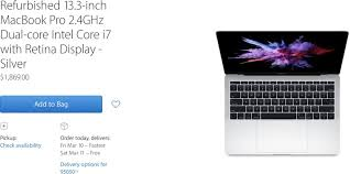 Rally Round The Flag Effect Apple Adds 2016 Macbook Pro Without Touch Bar To Refurbished Store