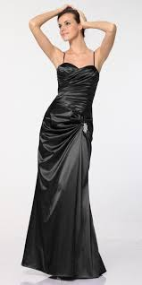 clearance plus size black satin dress discountdressshop