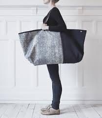 some mad enterprising genius designed an upscale ikea bag folk