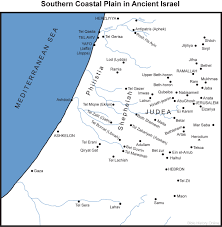 Fertile Crescent Map Map Of Israel U0027s Southern Coastal Plain Bible History Online
