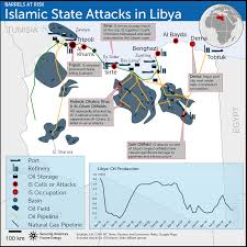 Map Of Libya The Fuse Map Isis In Libya The Fuse