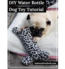 Free pattern Water bottle dog toy Dog Pinterest