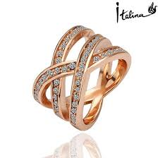 aliexpress buy brand tracyswing rings for women brand tracyswing genuine austria gold color rings for