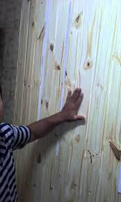 pare de parede de madeira papel de parede