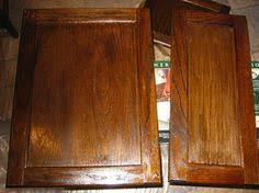 How To Stain Kitchen Cabinets by A Side By Side Comparison Of General Finishes Gel Stain The First