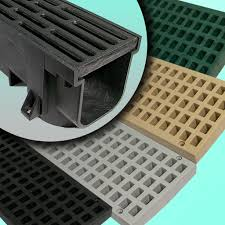 Garage Floor Drain Cover Replacement by Plastic Trench Drain Com