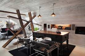 home office interior design a rustic chic htons home office design i décor aid
