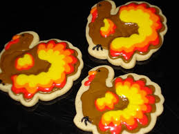 cedargap creations cookies decorated thanksgiving cookies