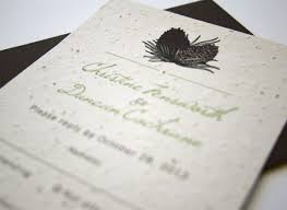 plantable wedding invitations stationery scoop the by paper company ceo heidi reimer epp