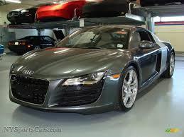 Audi R8 Grey - 2009 audi r8 4 2 fsi quattro in daytona grey pearl effect 000798
