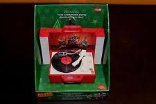 Alvin And The Chipmunks Christmas Ornament - rudolph the red nosed reindeer animated record player christmas