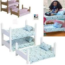 Baby Bunk Bed Doll Beds 2 Stackable Baby Bunk Bed Amish Handmade