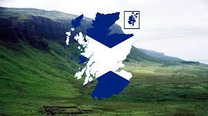 flag map of scotland speedart youtube