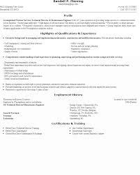Engineering Resume Objectives Samples Building Maintenance Engineer Resume Sample Http Www