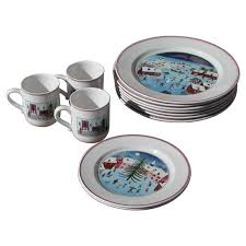 christmas plates vintage naif christmas plates by villeroy and boch at 1stdibs