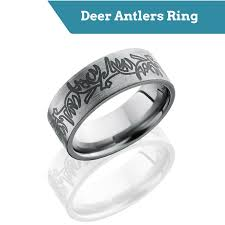 deer antler wedding band top deer wedding bands for men camokix