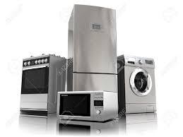 appareils de cuisine cuisine avec frigo noir