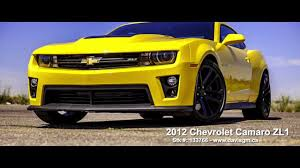 yellow camaro zl1 used yellow 2012 camaro zl1 for sale in alberta