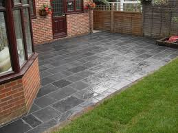 Slate Patio Designs Slate Patio Slabs Landscaping Designs Ideas And Decors Slate