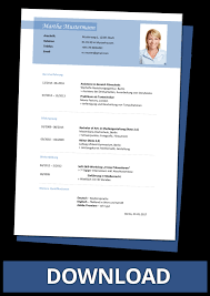 Lebenslauf Vorlage Gratis Lebenslauf Vorlagen Kostenlos Downloaden Als Word Dateien