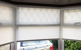 Discount Roller Blinds Bedroom Great 6 Motorized Roller Blinds Install In A Bay Window