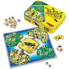 Haba Bad Rodach Haba Spiel In Der Dose Mini Obstgarten 2539 Babymarkt De