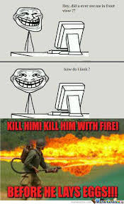 Troll Face Memes - rmx how other memes see troll face by andrew4ever meme center