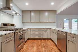glossy white glass subway tile backsplash kitchen colors beveled