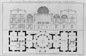 Fontainebleau Floor Plan Tuileries Palace Encloses The Western End Of The Louvre And The