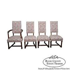 jamestown lounge feudal oak set of 4 antique dining chairs ebay