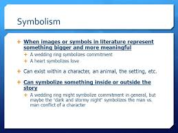 what does a wedding ring symbolize language arts ppt