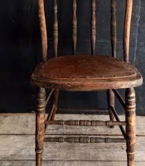 Urban Farmhouse Kitchen - primitive antique spindle back chair urban farmhouse kitchen