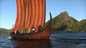 sailing with lofotr viking ship 04 08 11 youtube