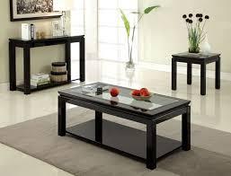 Hokku Designs Coffee Table Splendid Design Ideas Black Living Room Table Set Exquisite
