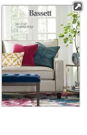 sign up for bassett u0027s free consumer catalog bassett furniture