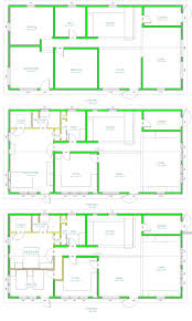 rectangular home plans 3d modern house layouts home design gombrel home designs