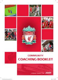 liverpool fc coaching manual