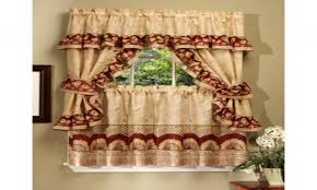 curtains for kitchen sunflower kitchen curtains sets retro