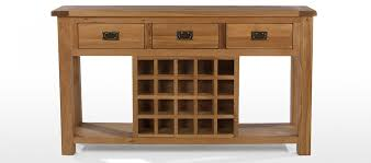 wine rack console table table designs
