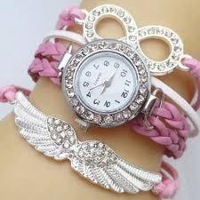 bracelet women images Angel wings bracelet women watch at rs 699 00 approx price new jpg