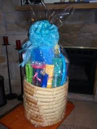 gifts for class reunions car of baskets chs 40th class reunion gift baskets