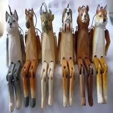 wood crafts photo frame moose antelope handicraft house